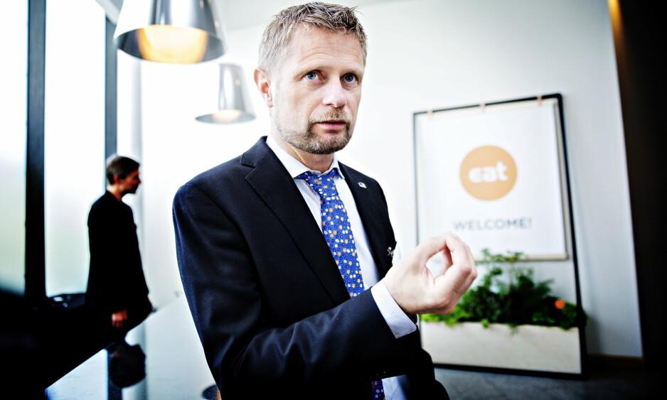 GODE LEDERE: - Vi trenger ledere som vet hvor skoen trykker, skriver helse- og omsorgsminister Bent Høie i denne replikken. Foto: Nina Hansen / Dagbladet