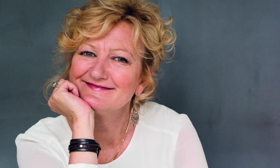 ENGASJERT: Trude Teiges drøm er at Eyvind Hellstrøm tar grep med maten som serveres på sykehjem landet rundt.