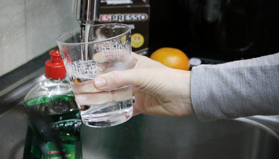 PLAST: En internasjonal undersøkelse påviser mikroplast i drikkevannet. Foto: Ole Petter Baugerød Stokke