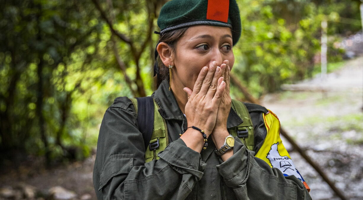 MARERITT: Natalia (26) har mistet så mange venner i krigen at hun ikke klarer å telle dem. Hennes mararitt startet med at faren ble drept da hun var seks år.