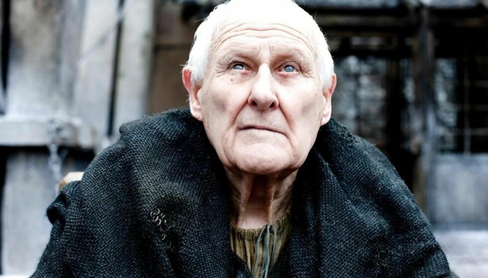 DØD: Den britiske skuespilleren Peter Vaughan ble 93 år gammel. Foto: HBO Nordic