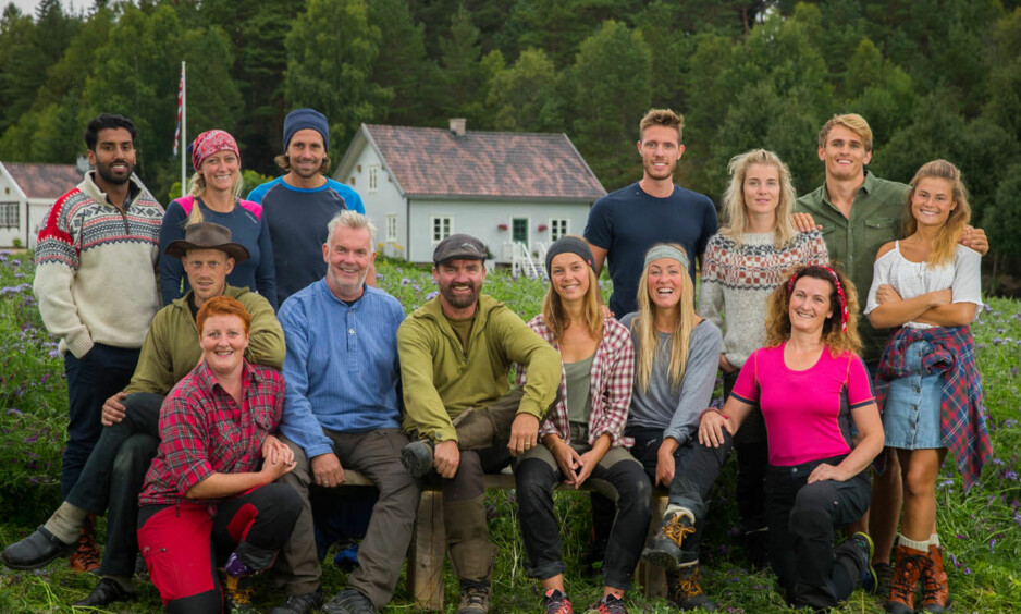 INGEN KJÆRE MOR: 1916-livet er ingen spøk, skal vi tro årets «Farmen»-deltakere. Mange av dem har gått gjennom store helseforandringer. Foto: Espen Solli / TV 2