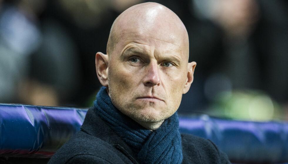 TAR IKKE OVER NORGE: Ståle Solbakken blir ikke ny norsk landslagssjef. Han fortsetter i FC København. Foto: Ólafur Steinar Gestsson / NTB scanpix