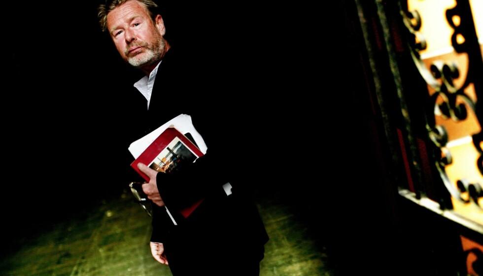 FORARGET: Forfatteren Tomas Espedal har laget video mot ulvene i litteraturkritikken. Foto: NTB Scanpix
