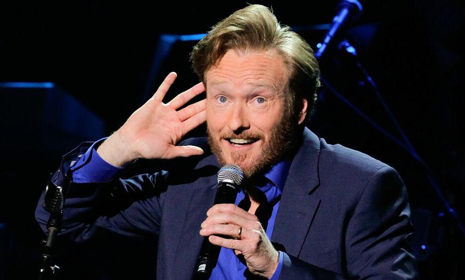 ERFAREN: Komiker og programleder Conan O'Brien (53) skal lede fredspriskonserten på søndag. –Jeg gleder meg til å besøke Oslo, sier han til Dagbladet. Foto: Noel Vasquez / NTB Scanpix