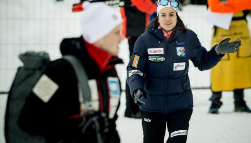 I FORM: Heidi Weng håper hun ikke er i form, men resultatene tyder på det. Foto: Bjørn Langsem / Dagbladet
