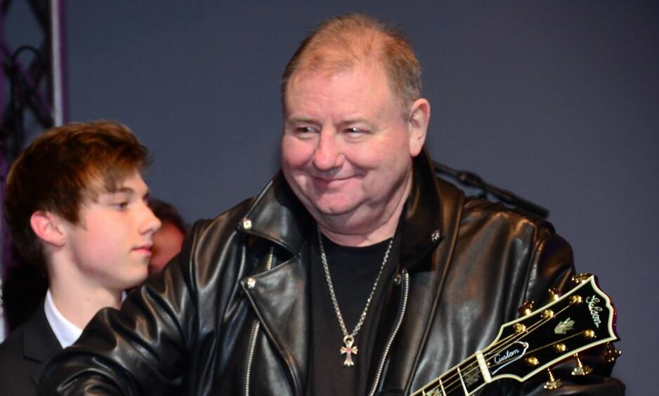 DØD: Musiker Greg Lake døde tirsdag, 69 år gammel. Foto: AEDT / WENN.com / NTB Scanpix