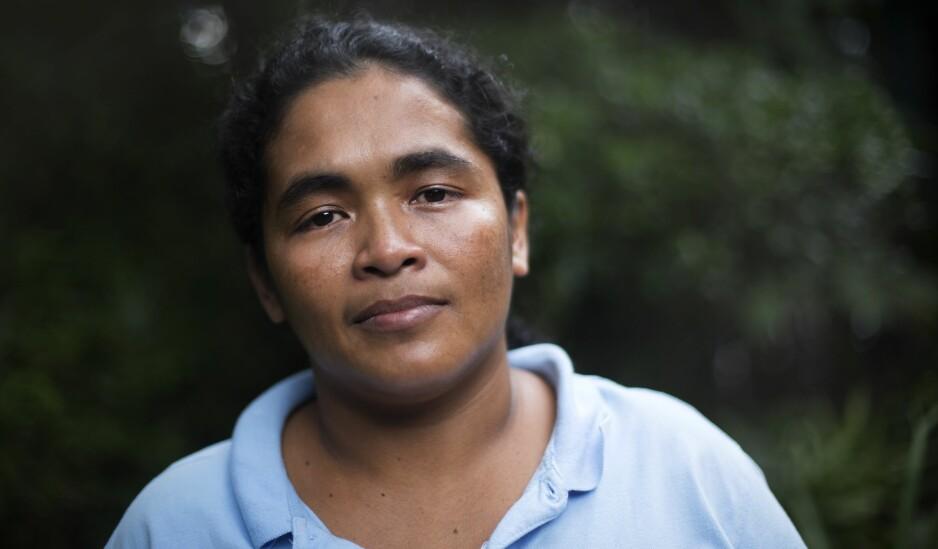 - USKYLDIG: Maria Teresa Rivera (33) forteller at hun ikke visste at hun var gravid da hun spontanaborterte. Foto: Hilda Nyfløt / Dagbladet