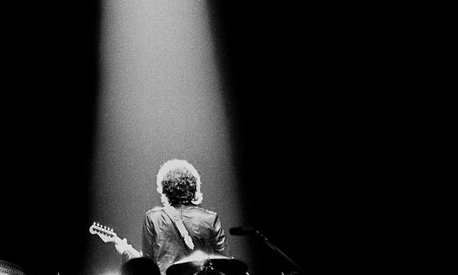 Da han var i Sverige: Dagbladets Tom Martinsen tok dette bildet av Dylan i Gøteborg i 1979. Foto: Tom Martinsen