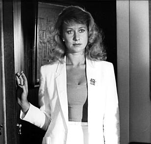 LANG KARRIERE: Helen Mirren i filmen «The Long Good Friday» fra 1980. Foto: Mary Evans Picture / NTB Scanpix
