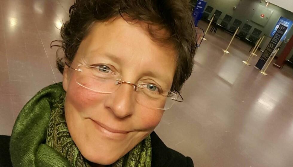 VIL SPRE ASKEN: Jessica Milkéwitz ville at moren skulle begraves i kirka i den svenske byen Lysekil. Foto: Privat