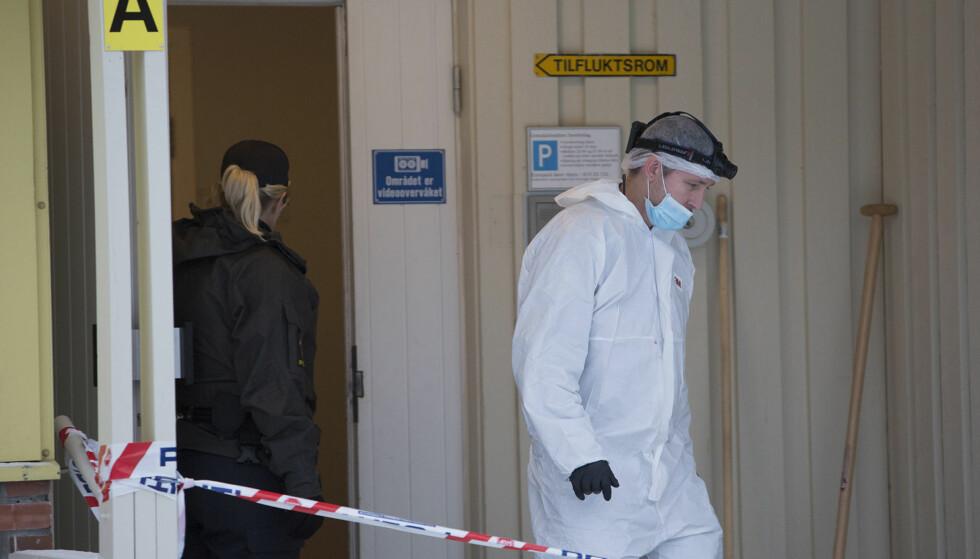 FUNNET DREPT: En mann i 30-åra ble funnet drept på Elverum natt til tirsdag. Foto: NTB Scanpix