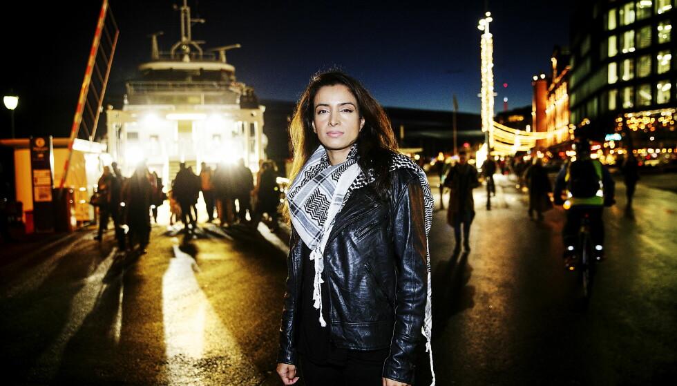 DRO FRA NORGE: Da Deeyah Khan var 17 år og popartist, fikk hun så mange trusler fra konservative muslimer at hun måtte flytte til London, hvor hun har bodd siden. Nå får hun også trusler fra rasister. FOTO: Nina Hansen / Dagbladet