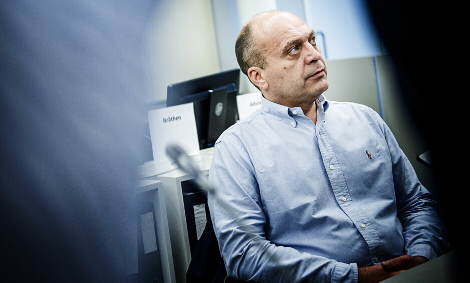 FAR: Gjermund Cappelens sønn avgir i dag sin forklaring for Oslo tingrett. Foto: Benjamin A. Ward / Dagbladet