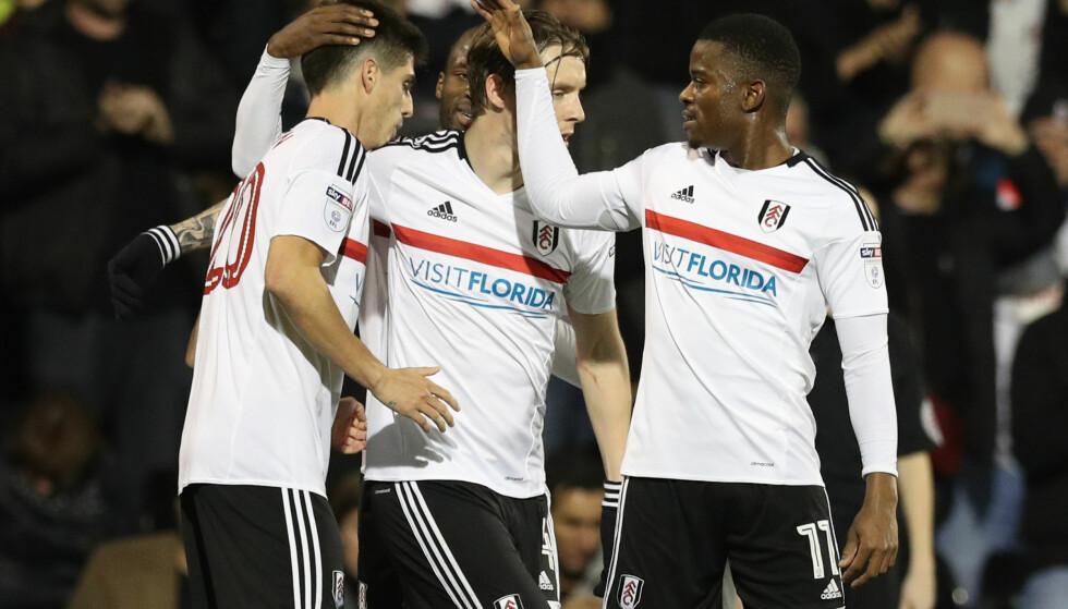 SCORET: Stefan Johansen (i midten) scoret mot Hull. Her med Floyd Ayite (til høyre) og Lucas Piazon. FOTO: NTB Scanpix