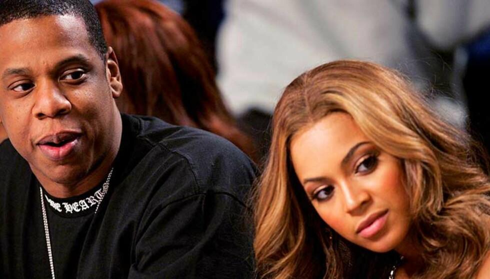 NYE SUPPORTERE? Jay-Z og popkjæresten Beyonce kan bli å se på Arsenals nye stadium framover.