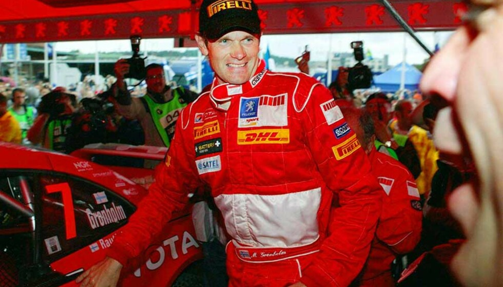 FORD-MANN: Marcus Grönholm kjører Ford de to neste sesongene, etter fem år hos Peugeot. Han står med 18 VM-løpsseirer og to VM-titler. Foto: Scanpix/Ap