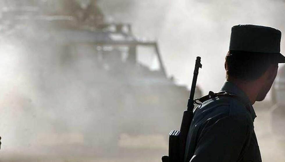 NATO OVERTAR: Amerikanske styrker i Afghanistan blir en del av NATO-styrken. Foto:REUTERS/ SCANPIX