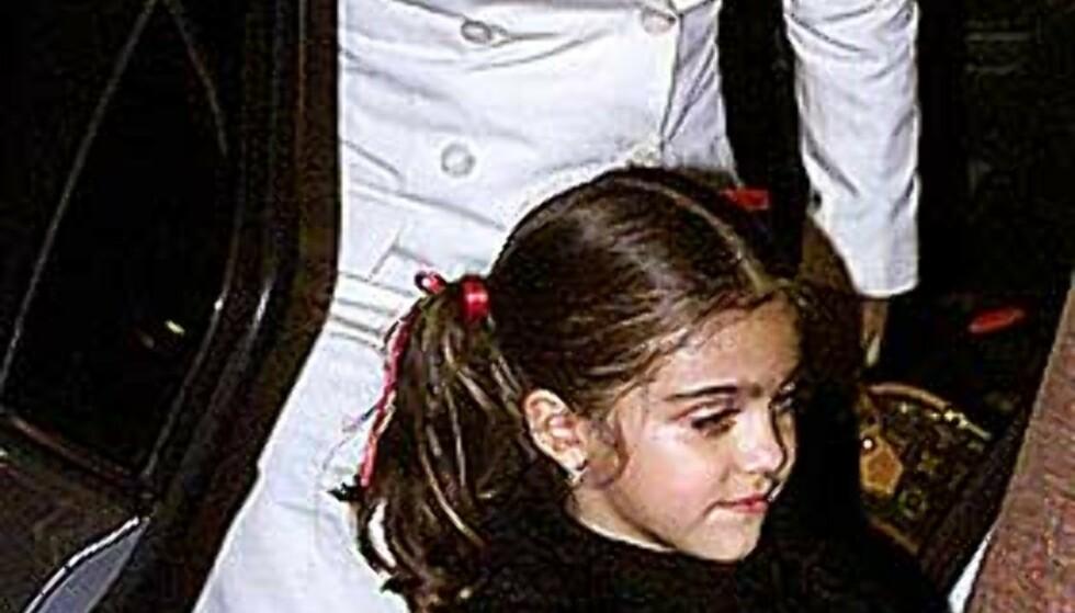STRENG: Madonna lar ikke datteren Lourdes (bildet) og sønnen Rocco få løpe fritt. Foto: Scanpix