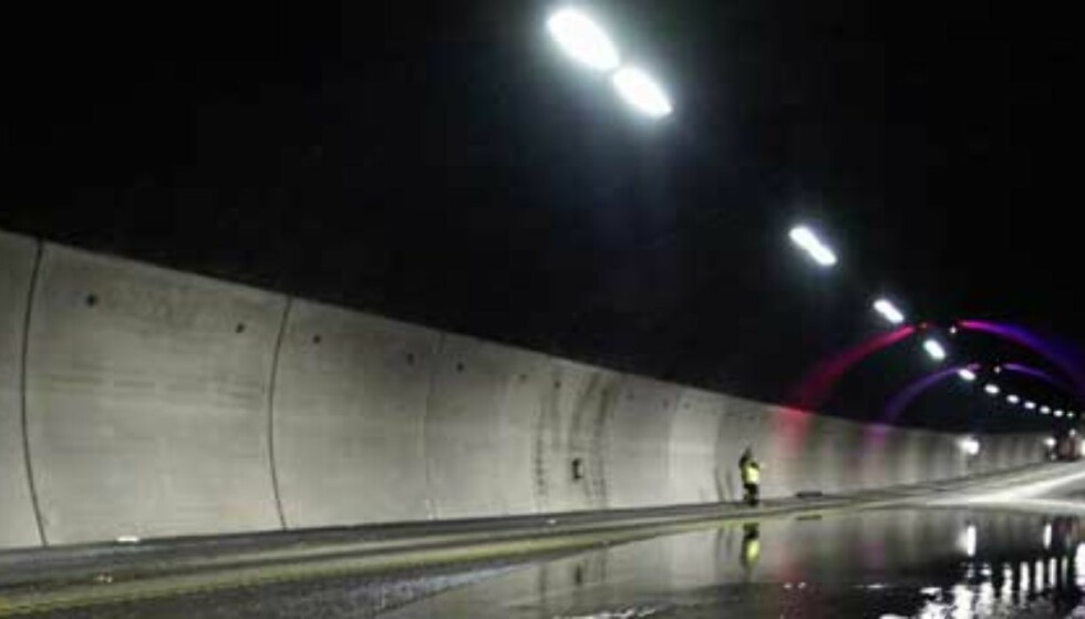 UGJESTMILDT: Golde og kalde omgivelser ventet de fire mennene da de ble satt av midt i tunnelen. Illustrasjonsfoto