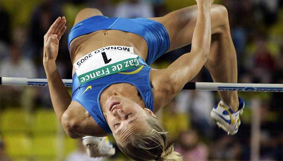 SPENSTIG: Kajsa Bergqvist blir Unicef-ambasadør. Foto: Reuters/Scanpix