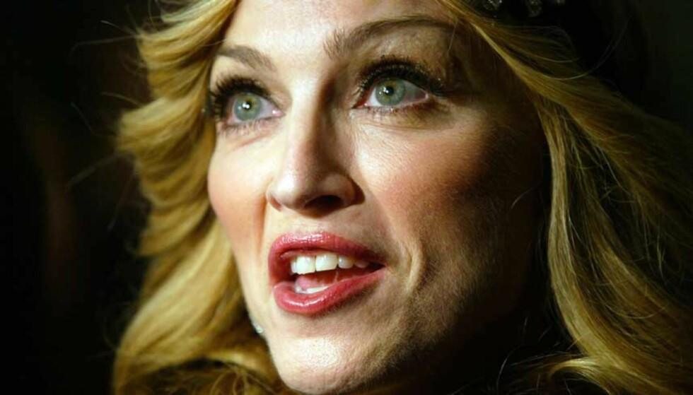 KONTAKTET NORSKE PRODUSENTER: Madonnas plateselskap ville ha lydprøver fra Lindstrøm & Prins Thomas. FOTO: SCANPIX/REUTERS