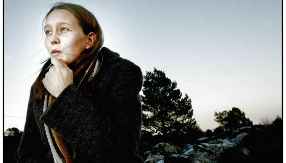 VANT: Etter å ha kjempet en ni år lang kamp mot rettsapparatet har trafikkskadde Veronika Finanger (27) fått medhold i Høyesterett. Foto: JON TERJE H. HANSEN