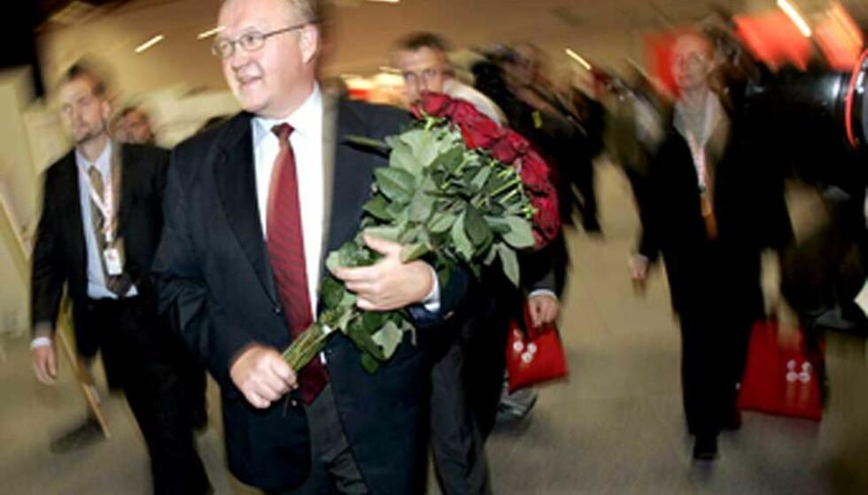 FORTSATT LEDER: Göran Persson.