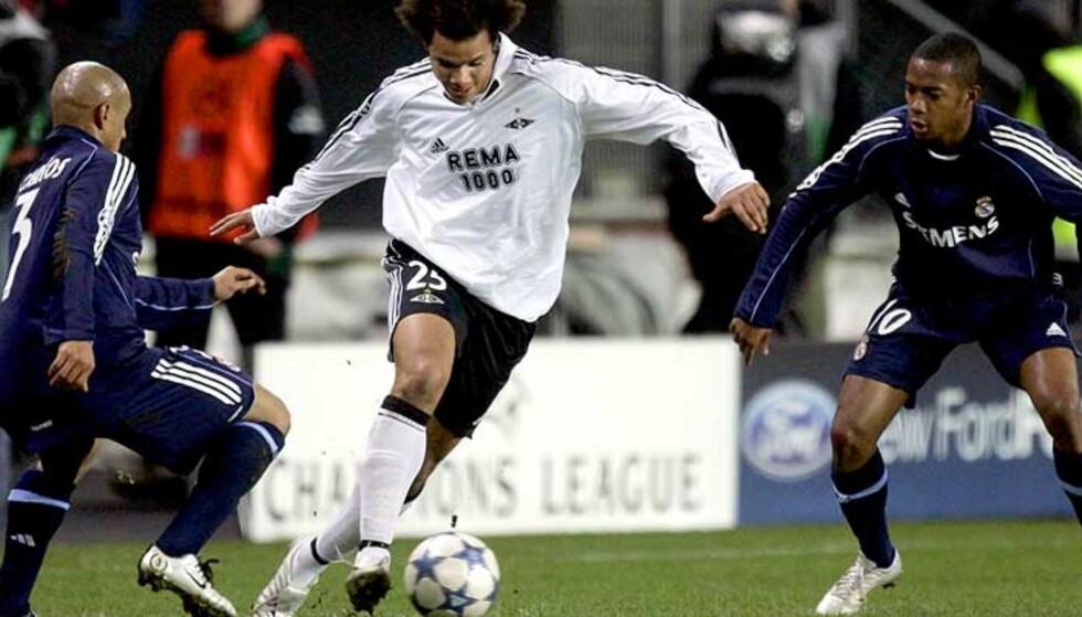LAGT MERKE TIL: Daniel Braatens herjing med blant annet Roberto Carlos og Robinho går ikke upåaktet hen i spanske aviser. Foto: Scanpix