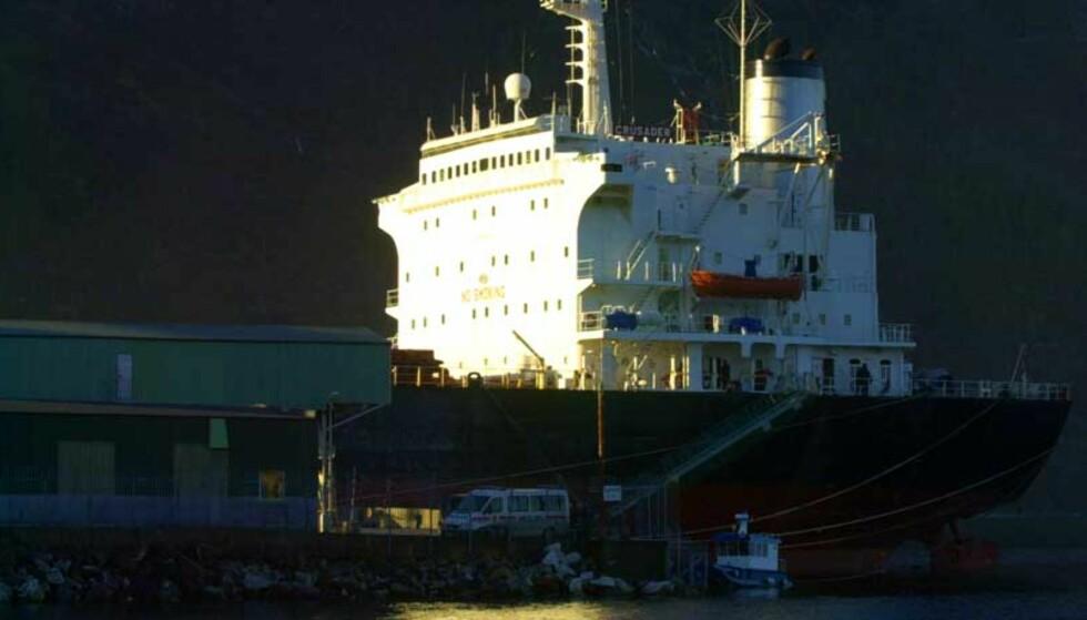 DOP FOR NESTEN HUNDRE MILL: Oppdaget ved tollkontroll av lastebåt i Mosjøen. Foto: David Kinsella for Dagbladet.no