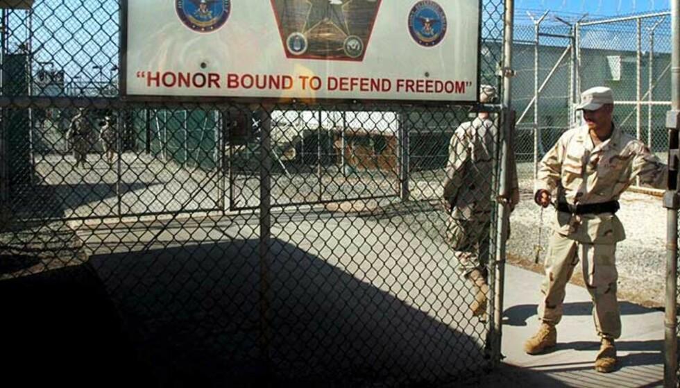 GUANTANAMO: Terrorfengselet i Guantanamo bay på Cuba er kanskje ikke det eneste terrorfengselet USA har. Foto: EPA