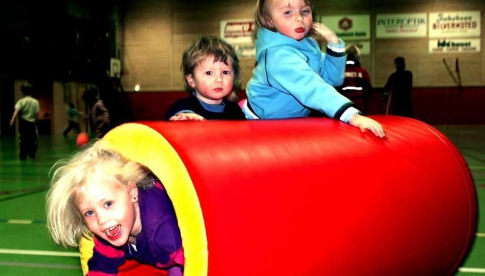 Barneidrettsgruppa i Hemnes var blant vinnerne i fjor. Foto: Trond Kenneth Larsen
