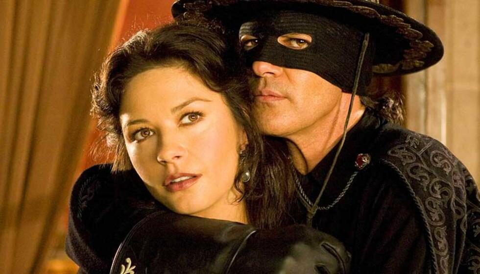 NY REKORD: «The Legend of Zorro» var blant filmene som stod på menyen da fire kinogjengere satte verdensrekord i Fredrikstad. FOTO: FILMWEB.NO