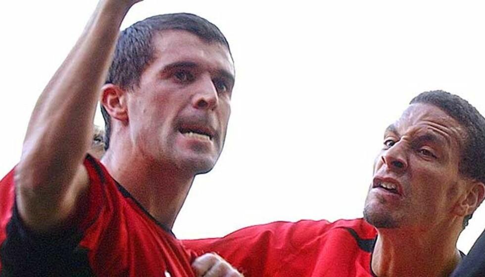 KAPTEINEN HAR ALLTID RETT: Rio Ferdinand synes Roy Keanes utblåsning var helt grei. Foto: Scanpix/Ap