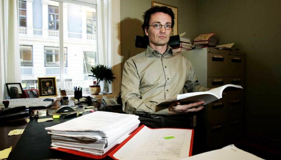 MANGE HENVENDELSER:  Før Dagbladet begynte å skrive om oljemarerittet, hadde advokat Kjell Inge Ambjørndalen i Norman & co fått inn 57 yrkesskadesaker han skal fremme i forbindelse med kjemisk eksponering på Ekofisk.