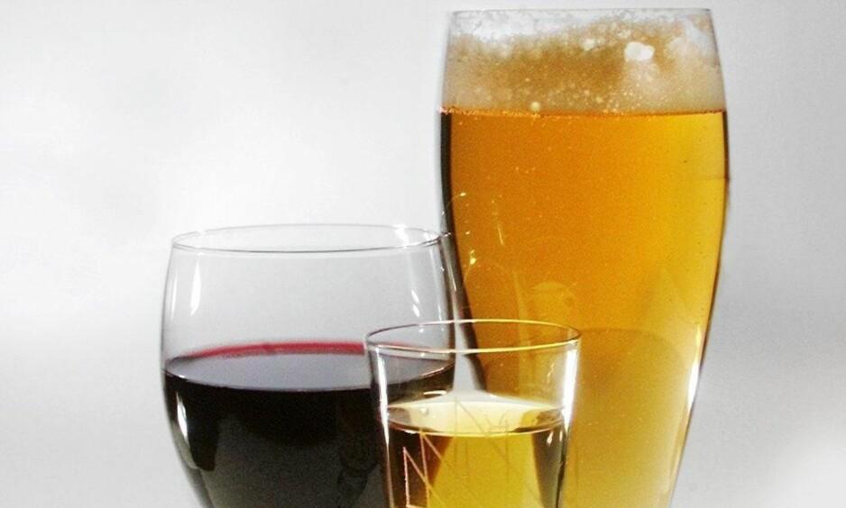 PASSER TIL FET JULEMAT: Høy alkoholprosent og krydret smak er to egenskaper som matcher julematen bra. Foto: AFTENPOSTEN / NTB SCANPIX