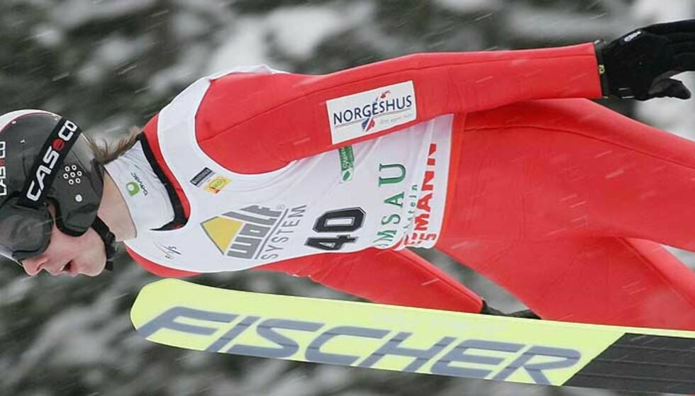 SKUFFET: Petter Tande. Foto: KERSTIN JOENSSON/AP/SCANPIX