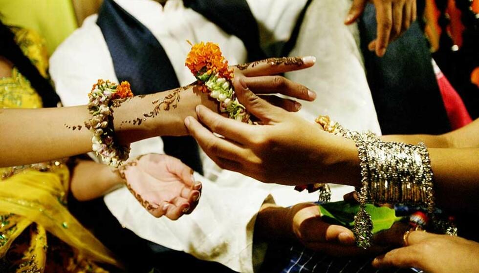 ARRANGERT EKTESKAP: Kan ende i tvang for norske jenter som vil ut av ekteskapet. Foto: Linda Næsfeldt