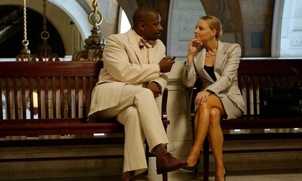 PREMIEREAKTUELL: Jodie Foster spiller mot blant andre Denzel Washington i thrilleren «Inside Man». FOTO: FILMWEB