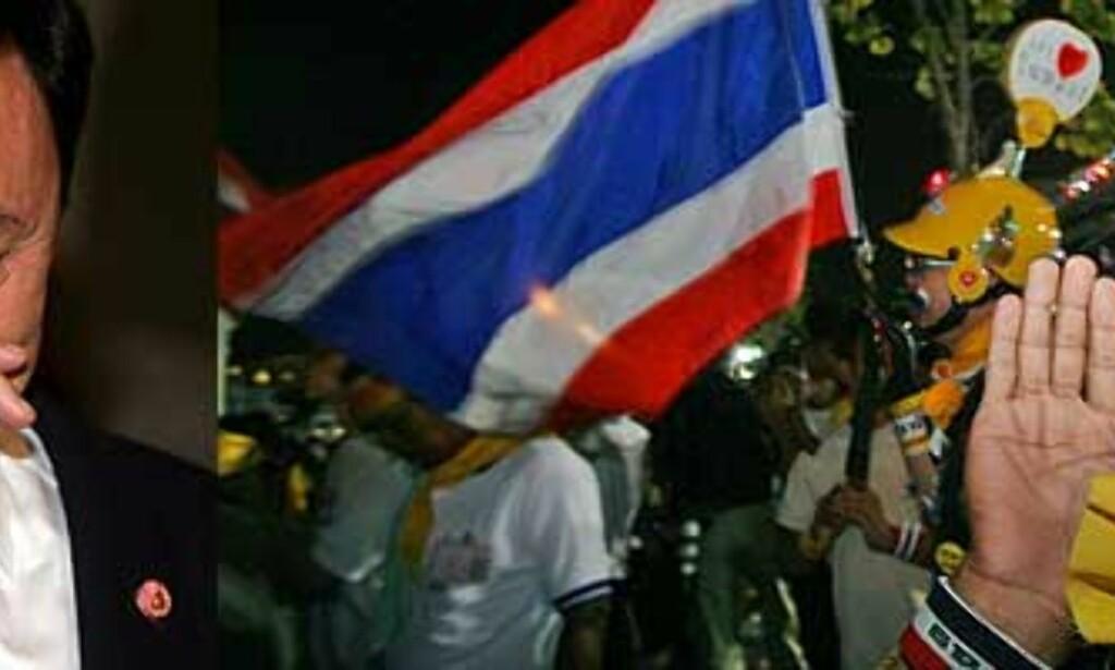 Thailands statsminister lover å gå av