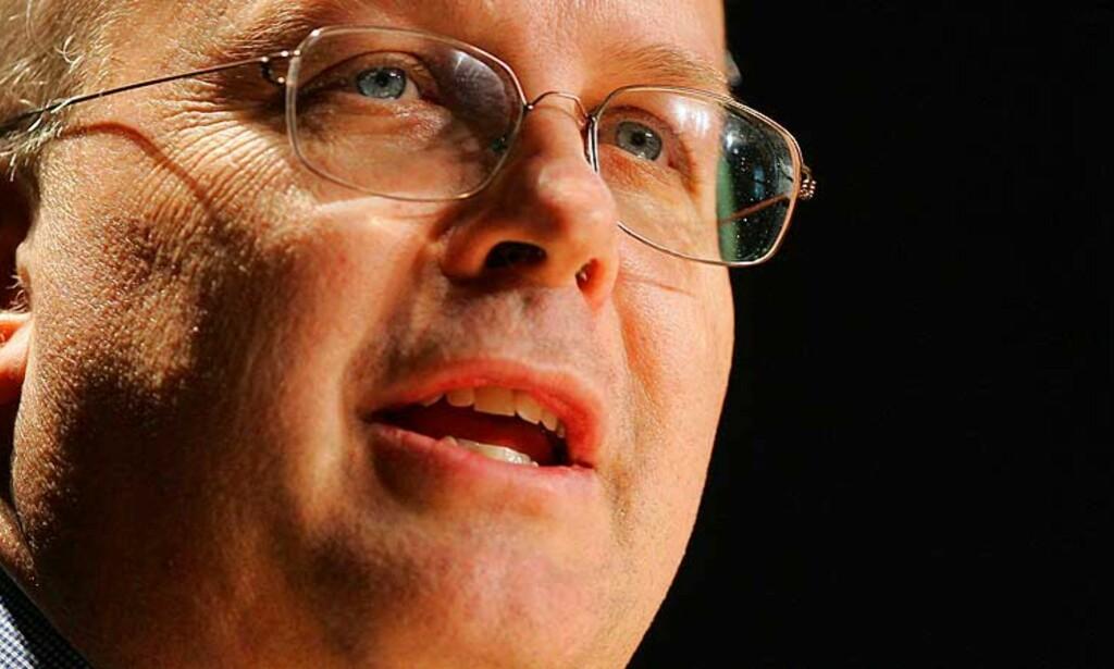 Karl Rove skal gi Bush færre råd