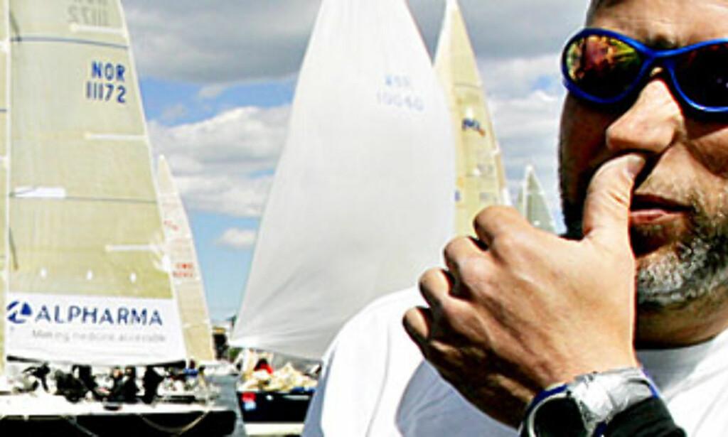 NY ARENE FOR KJUS OG AAMODT: Lasse Kjus har ikke mistet konkurranselysten. I morgen skal han og kompis Kjetil Aamodt knive i en regatta. Foto: Hans Arne Vedlog