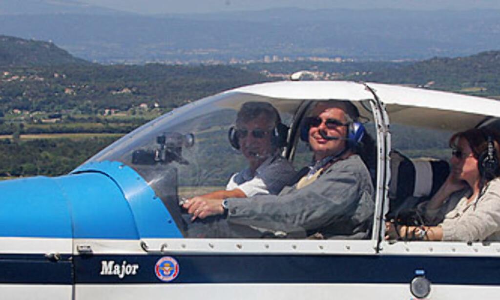 Blind pilot med rekordforsøk