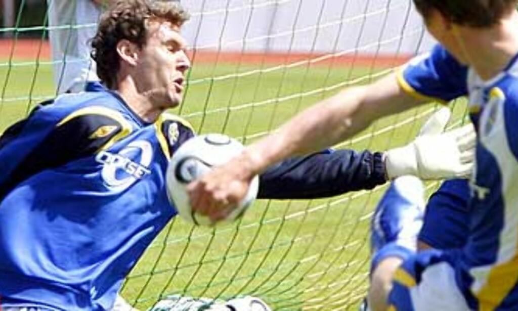 Isaksson skutt ut av Sveriges mål