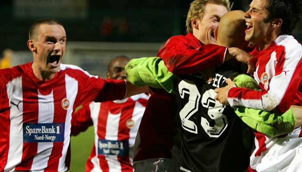 AMATØR: Runar Normann (t.v) har spilt for LSK, Coventry, Brann, VIF og TIL. I dag forteller han om kontrakstrøbbelet på Alfheim. Foto: Scanpix