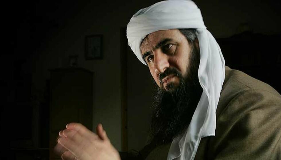 VIL JIHAD: Mullah Krekar sier han gjerne vil reise tilbake til Nord-Irak for å drive krig mot amerikanske soldater der. Foto: Heiko Junge/SCANPIX