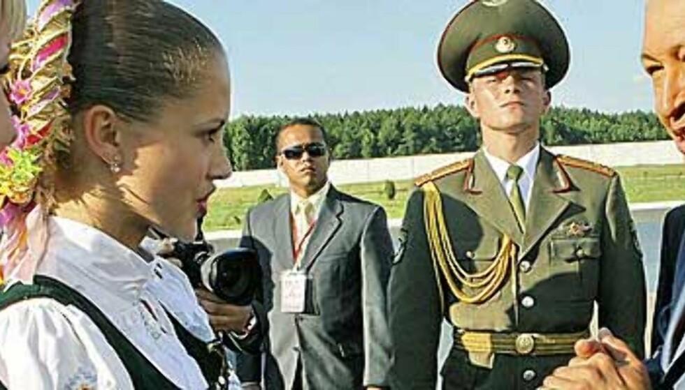 Chavez på heftig diktator-turné