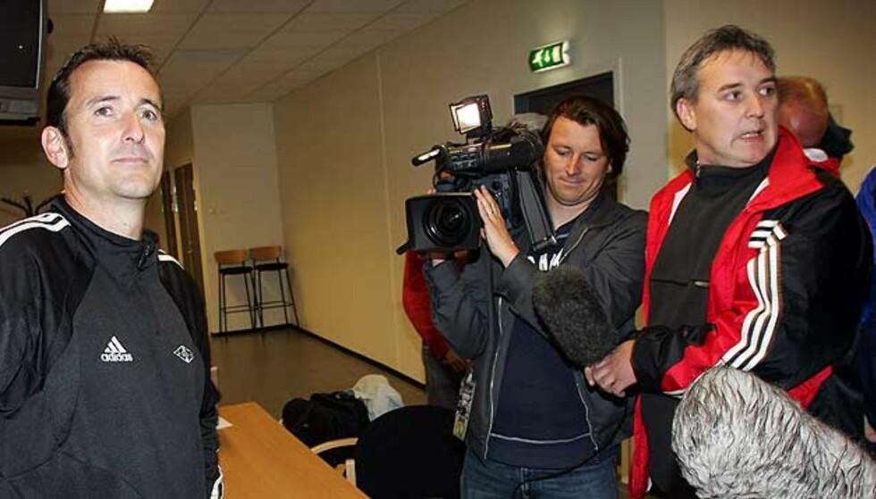 ARV FRA RBK: Framskrittspartifotball er et uttrykk Per Joar Hansen elsker. Han plukket det opp da han var RBK-trener. Foto: Scanpix