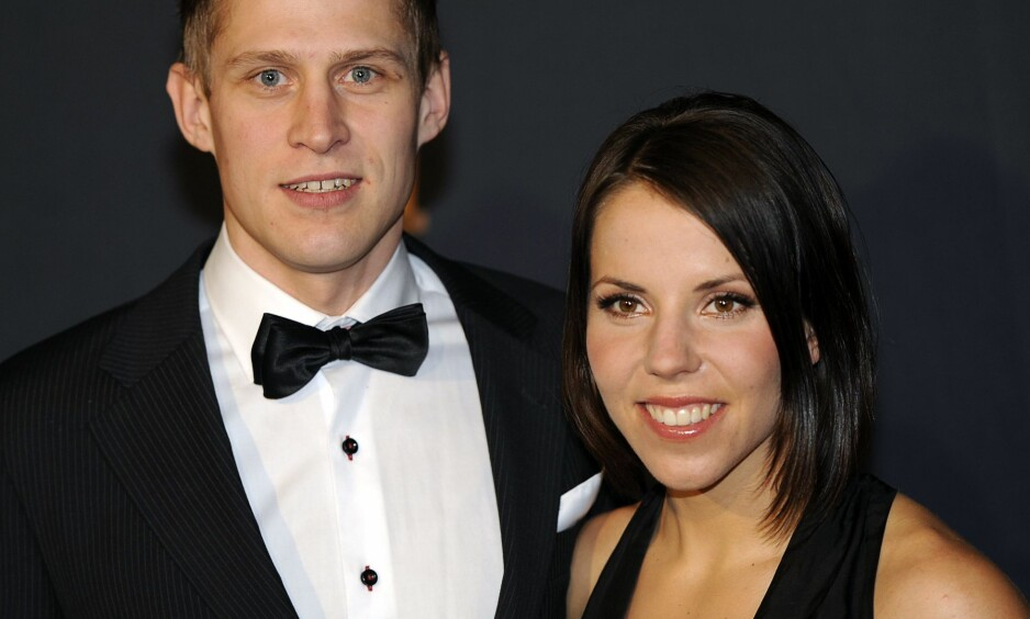 BRUDD: Charlotte Kalla og Anders Svanebo gikk hver til sitt i september. Den siste tida har de hatt en del å prate om igjen. Foto: NTB Scanpix
