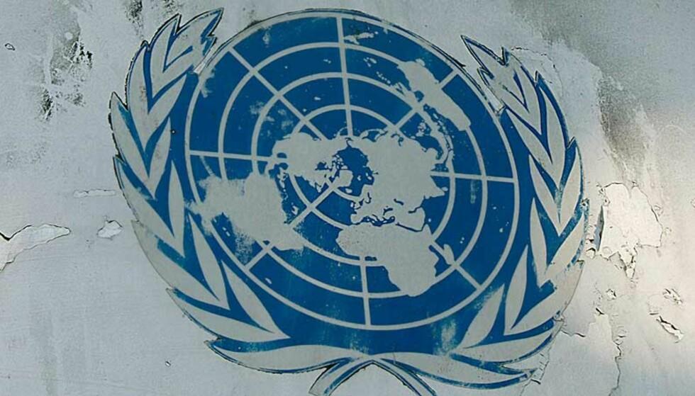 SLITT BILDE: FN-toppen mener det ikke er uvanlig at det forekommer overgrep blant FNs fredsbevarende styrker. Foto: Scanpix